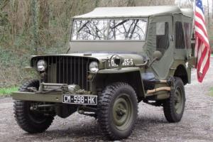 1942 WILLYS MB JEEP 12V (US) WWII (Ford/GPW) - STUNNING