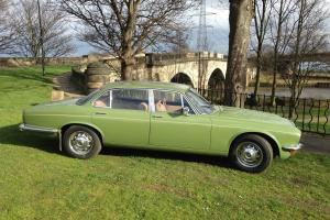 1978 DAIMLER SOVEREIGN 4.2 LWB AUTO OLIVE GREEN*NO RESERVE*STUNNING CLASSIC Photo