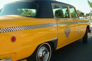 Checker Taxi Cab conversion