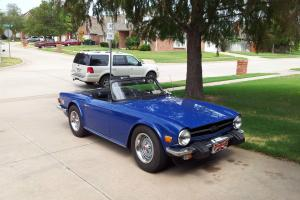 Triumph : TR-6 Very good condition Photo