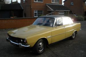 ROVER P6b 3500 S 5 speed manual