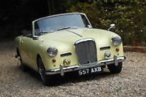 ALVIS TD21 CONVERTIBLE PREVIOUS OWNER 40 YEARS