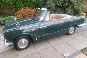 1971 TRIUMPH HERALD 13 / 60 CONVERTIBLE IN LAUREL GREEN TAX EXEMPT