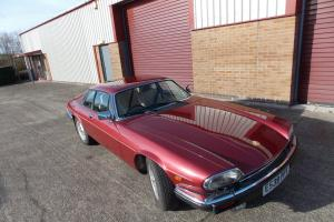 1987 JAGUAR XJS HE Sports AUTO RED