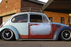 Vw Beetle 1200 With Air Ride Rat Look
