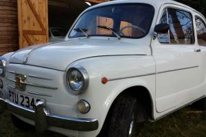 Classic Fiat 600D not Fiat 500 in excellent condition