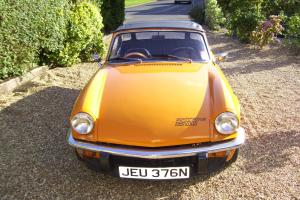Triumph Spitfire 1500 Burnt Orange 1974 gd con, tax MOT viewing highly rec