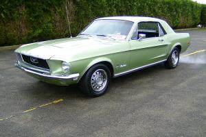 Loaded 1968 Ford Mustang V8 Coupe