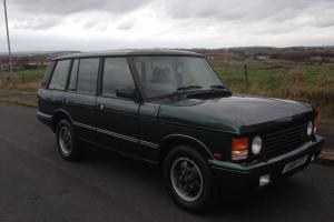 LAND ROVER RANGEROVER LSE CLASSIC LOW MILES BROOKLANDS NO RESERVE SIMPLY SUPERB