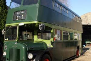 DOUBLE DECKER BUS DAIMLER 1959 DOUBLE ETAGE ROUTEMASTER Photo