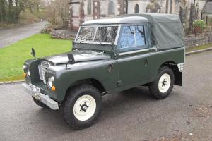 Land Rover Series 3 SWB, 88' 1978 MOT & Tax, Total Renovation, New Short Engine