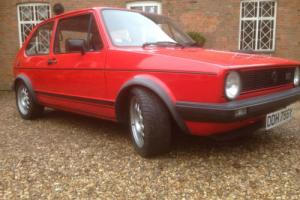 Volkswagen Golf/Rabbit MK1 GTI 1983 Mint for age taxed tested ready to go