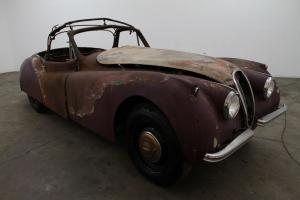 Jaguar : XK 120 Drop Head Coupe Photo