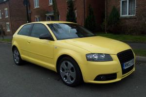 2004 Audi A3 2.0 TDI Sport Manual DIESEL Yellow S Line Styling BOSE + LEATHER
