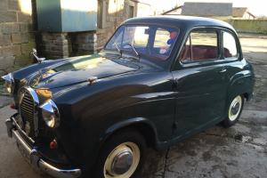1958 AUSTIN A35 GREEN WITH RED INTERIOR 2 DOOR **27 PHOTOS & VIDEO**