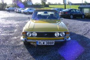 1977 TRIUMPH STAG AUTO YELLOW Photo