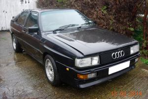 AUDI UR QUATTRO TURBO MB 1988-89 F REG EASY RESTORATION PROJECT 20V S2 RS2 COV Photo