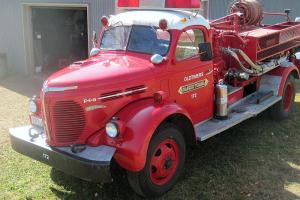 1948 REO fire truck -- excellent condition!