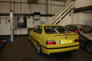 1996 BMW M3 COUPE YELLOW