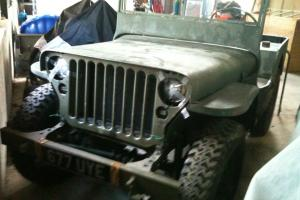 1944 Willys Jeep Unfinished Project