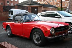 Triumph TR6 Car - 1971 - Red - Fanastic Condition - Overdrive - British Model