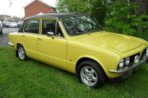 1975 TRIUMPH DOLOMITE SPRINT YELLOW Photo