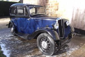 1937 Morris 8, Pre-war car, vintage style car, lovely old car