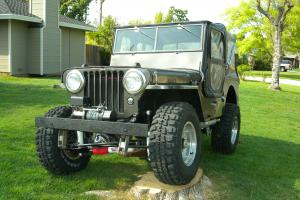 1945 Willys  CJ2A-10003 All new everyting