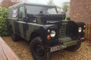 land rover series 3 109 ex military