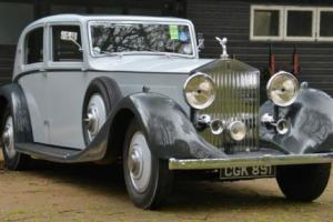 1935 Rolls Royce Phantom II Barker Swept back. Photo