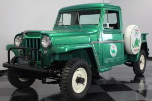 FULLY RESTORED WILLYS JEEP, COOL SINCLAIR STICK ON LOGOS, RUNS AND DRIVES GREAT,