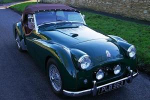 1954 Triumph TR2 Long Door (Mille Miglia eligible) Photo