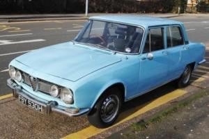 1970 Alfa Romeo Berlina Series I