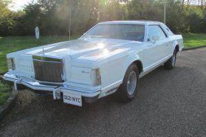 **$** LINCOLN ** CONTINENTAL ** CARTIER Mk V  **1977**7.5L* FORD V8 **MAY P/X