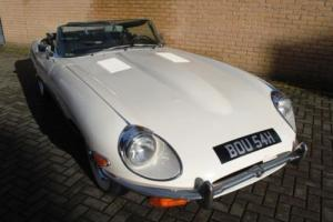 1970 Jaguar E-Type, Series II, Roadster Photo