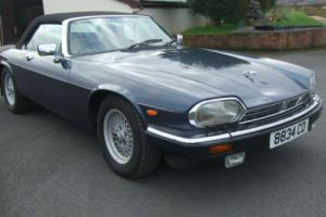 1989 G Jaguar XJS V12 Convertible Automatic Photo