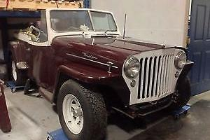 Willys : Jeepster