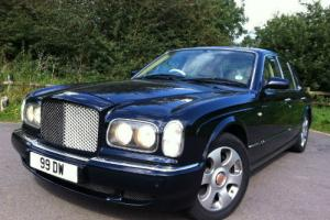 2000 BLUE Bentley Arnage Red Label Must Be 1 Of The BEST Available FBSH Photo