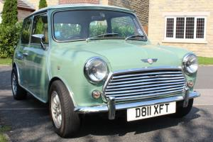 1987 AUSTIN MINI MAYFAIR GREEN/WHITE