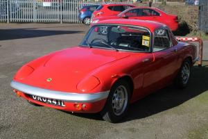 1966/D LOTUS ELAN S3 SE RED **BODY OFF RESTORATION**