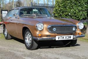 VOLVO P1800 ES AUTO GOLD **GENUINE 65,000 MILES FROM NEW**