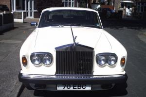 ROLLS ROYCE SILVER SHADOW 11 WHITE 1977 Photo