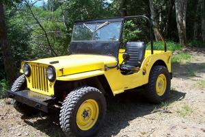 Willys : cj2a