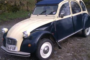 Citroen 2cv dolly.Blue and cream