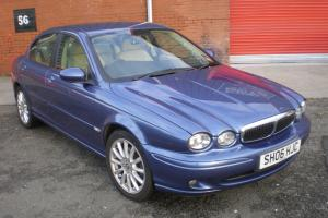 2006 JAGUAR X-TYPE 2.0 D S, 4 DOOR SALOON, ULTRAMARINE BLUE Photo