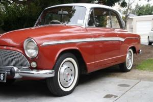 Simca Aronde Coupe RHD 1959