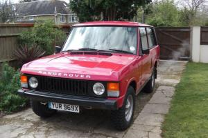 Early Range Rover 2 door
