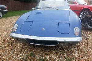 Lotus Elan 2+2 Been dry stored