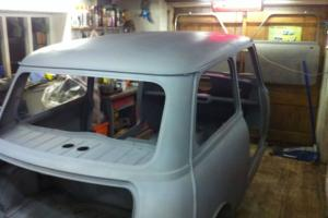 Classic Mini Cooper S Restoration Project