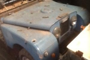 Series 1 Land rover 86 ex AFS 1956